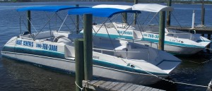 Daytona Beach Deck Boat Rental